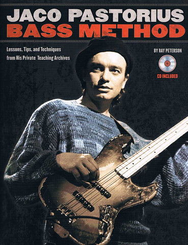 JACO PASTORIUS BASS METHOD /CD