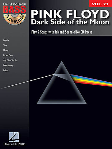 PLAY ALONG PINK FLOYD DARK SIDE OF THE MOON BASS VOL. 23 /CD