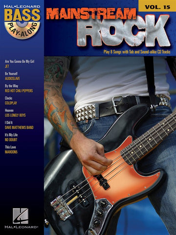 PLAY ALONG BASS MAINSTREAM ROCK /CD