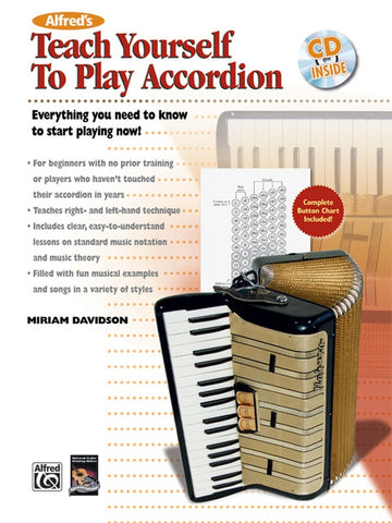 ALFREDS TEACH YOURSELF TO PLAY ACCORDION