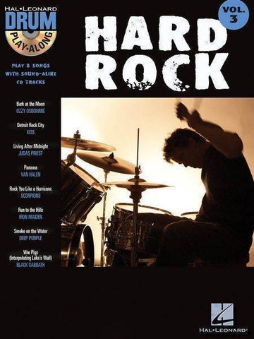 PLAY ALONG DRUM HARD ROCK VOL. 3 /CD