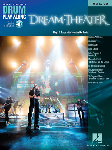 DRUM PLAY ALONG DREAM THEATER VOL. 30