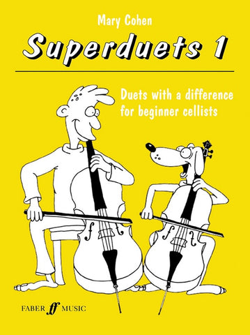 SUPERDUETS FOR CELLO BOOK 1