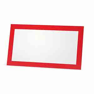 Red Place Card