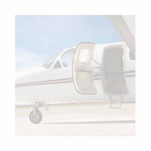 Airplane Sticky Notes - Set of 3 - Blank or Personalized