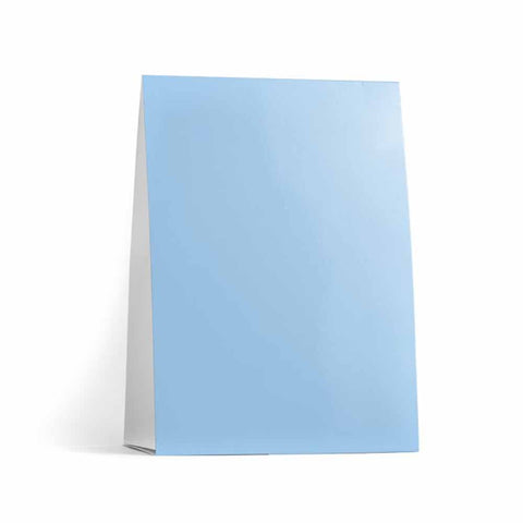 Baby Blue Table Tent Cards