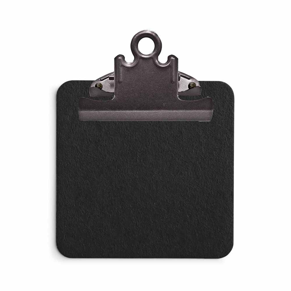 Black Sticky Note Clipboard