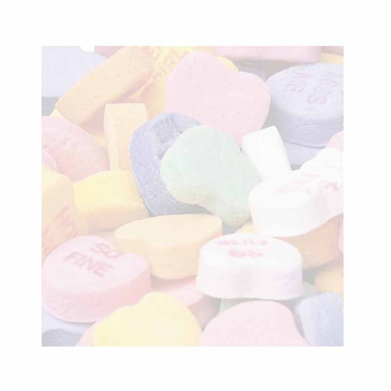 Candy Hearts Sticky Notes