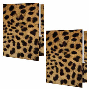 Cheetah Print Folder - Set of 2