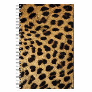 Cheetah Animal Print Journal Notebook
