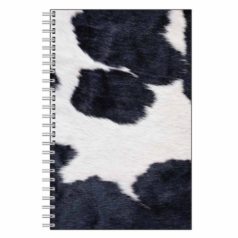 Cow Animal Print Journal Notebook