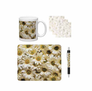 Daisies Desk Gift Set