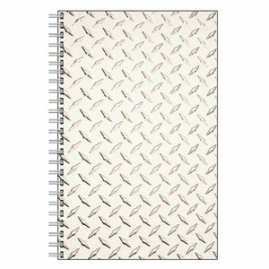 Diamond Plate Journal Notebook