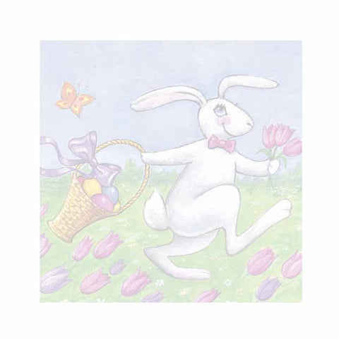 Easter Bunny Sticky Notes - Set of 3 - Blank or Personalized