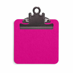 Fuchsia Sticky Note Clipboard with Sticky Notes