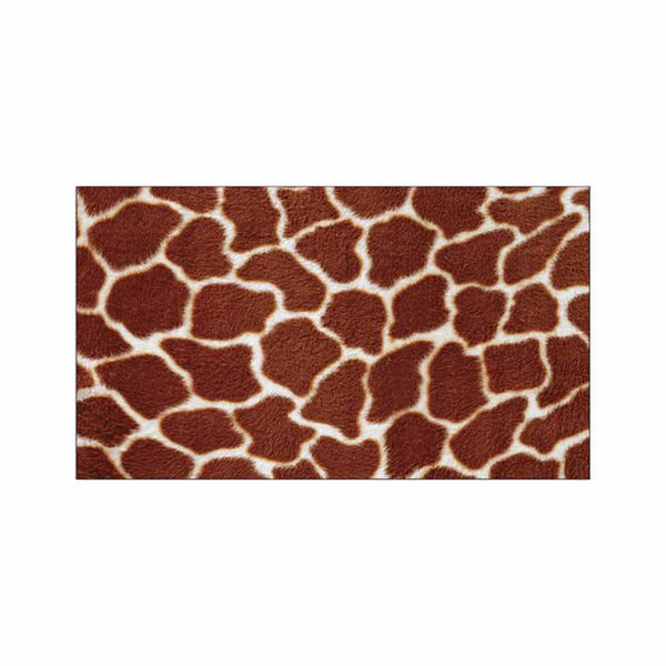 Giraffe Print Place Cards - Flat Style
