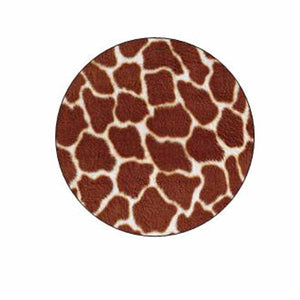 Giraffe Animal Print Stickers
