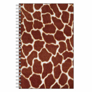Giraffe Animal Print Journal Notebook