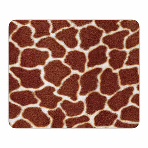 Giraffe Animal Print Mouse Pad