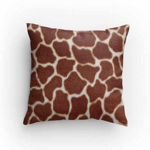 Giraffe Print Pillow