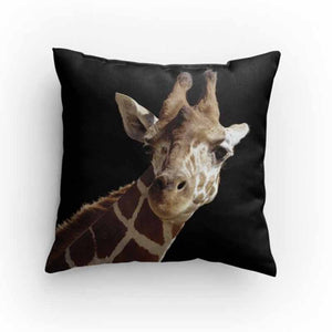 Giraffe Face Pillow