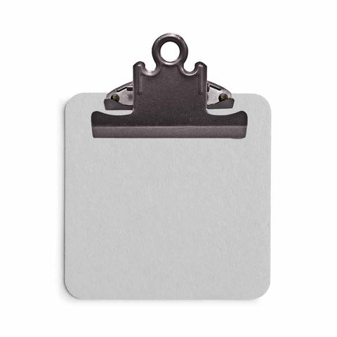 Sticky Note Clipboard - Gray