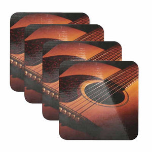 Guitar Coaster Set