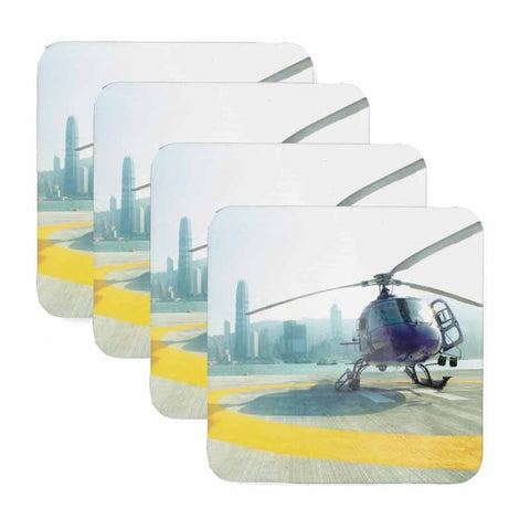 Helicopter Coaster Set