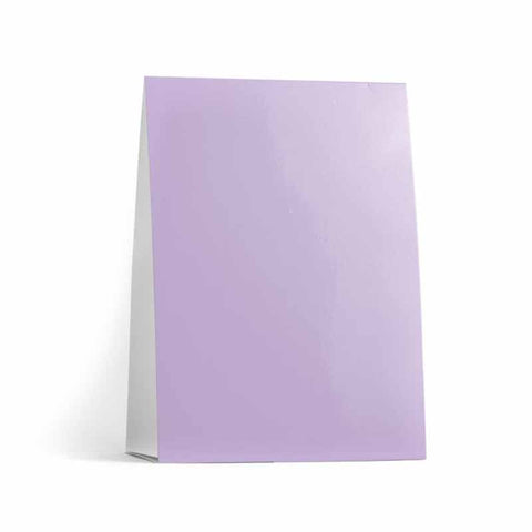 Lavender Table Tent Cards