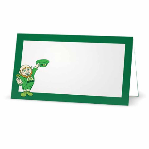 Leprechaun Green Place Cards