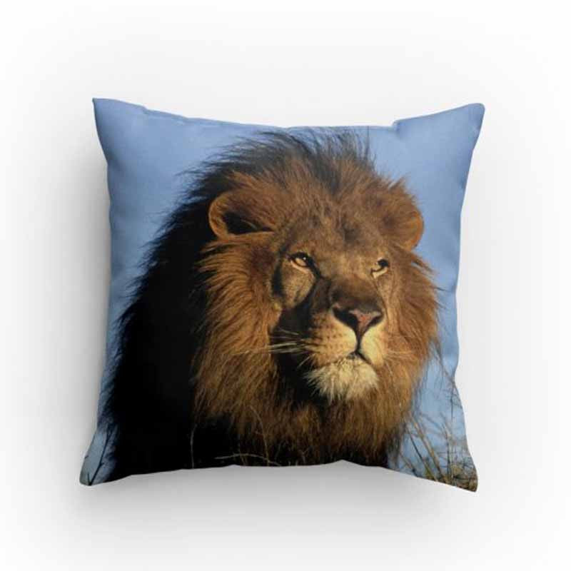 Lion Face Pillow