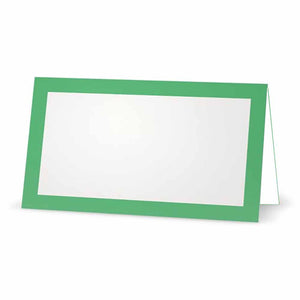 Mint Place Cards - Tent Style