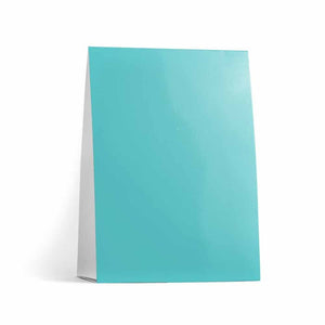 Misty Blue Table Tent Cards
