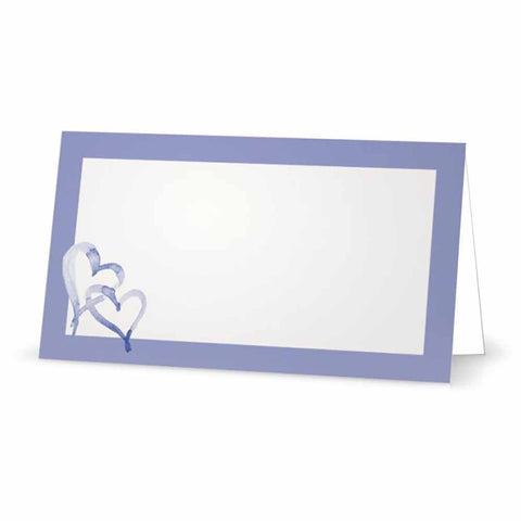 Open Hearts Place Cards - Tent Style