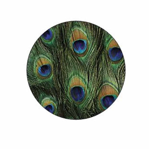 Peacock Print Stickers