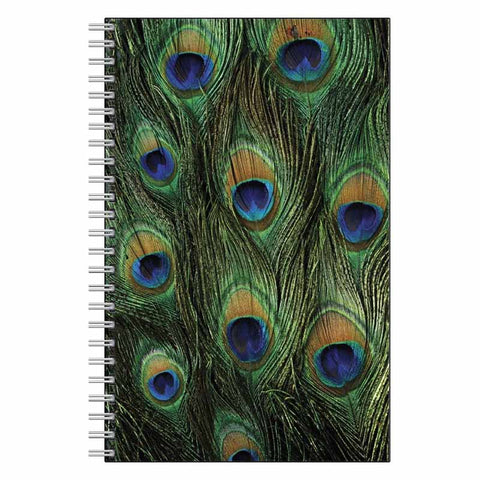 Peacock Print Journal Notebook
