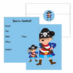 Pirate Boy Invitations