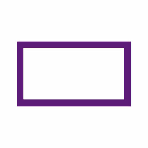 Purple Place Cards - Flat Style