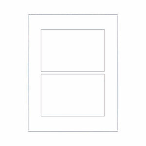 "4"" x 6"" Labels - Rectangle Labels - SELECT COLOR"