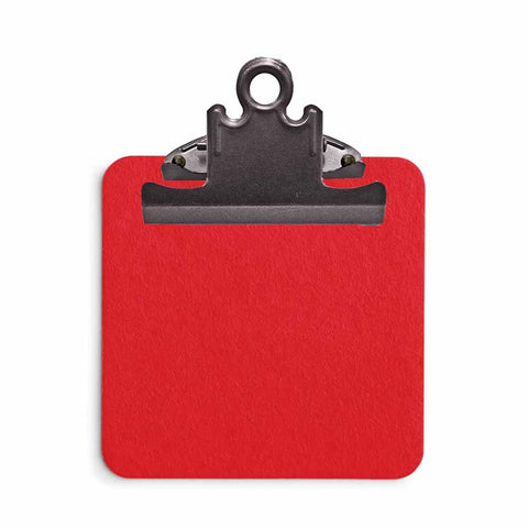 Sticky Note Clipboard - Red