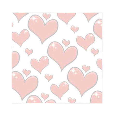 Red Hearts Sticky Notes