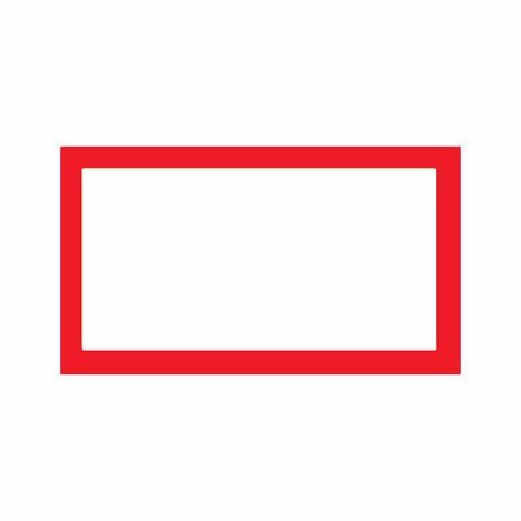 Red Place Cards - Flat Style