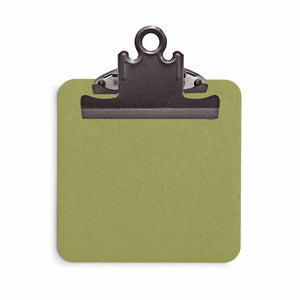 Sage Green Sticky Note Clipboard