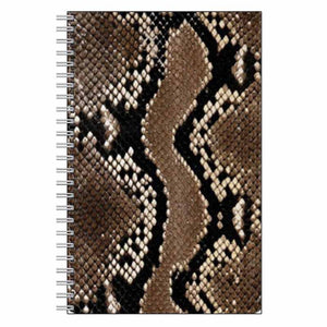 Snake Print Journal Notebook
