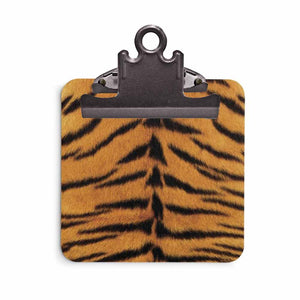 Tiger Print Clipboard