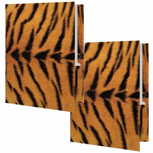 Tiger Print Folder - Set of 2