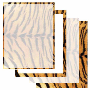 Tiger Print Letter Paper - Select Design