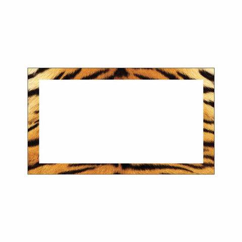 Tiger Print Place Cards - Flat Style