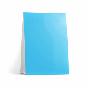Turquoise Table Tent Cards