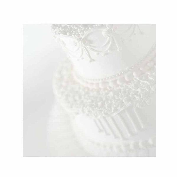 Personalized wedding cake design sticky note